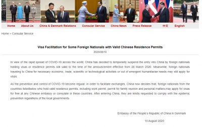 36 Countries Nationals May Apply for a Chinese Visa Enter China Now